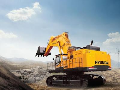 Hyundai Construction Manual PDF: Hyundai R1250-9 Crawler Excavator