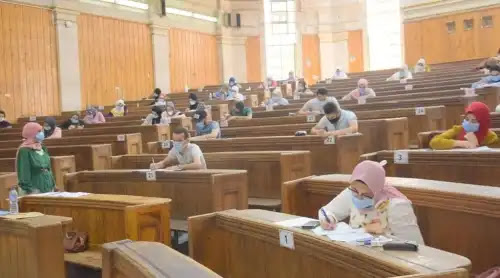 امتحانات الجامعات إلكترونيا أم حضوريا .. وزارة التعليم العالي تجيب