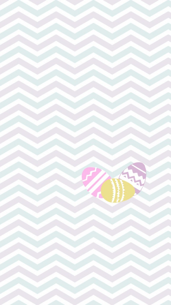 Easter egg pattern iPhone Wallpapers (1)