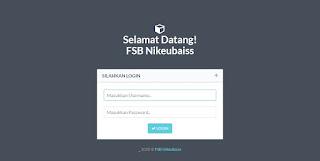 Aplikasi Sistem Informasi Anggota Nikeubaiss