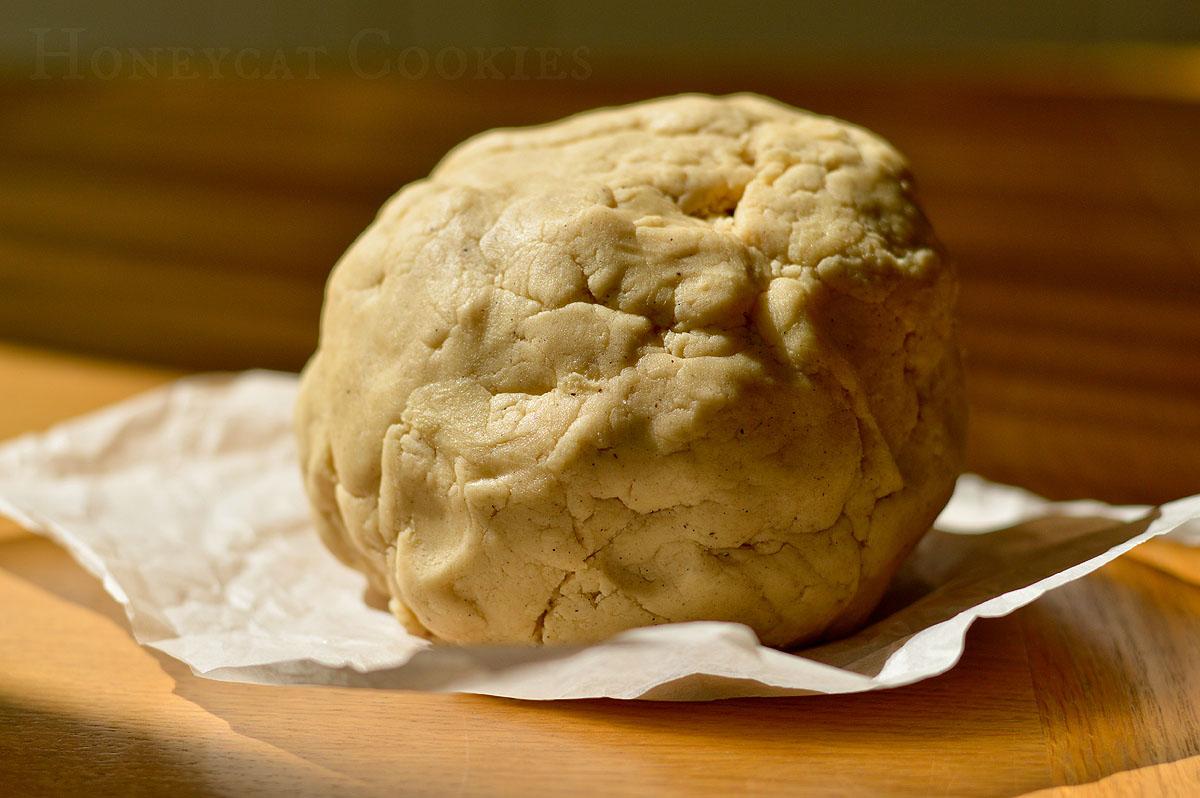 Freshly made batch of sugar cookie dough by Honeycat Cookies.