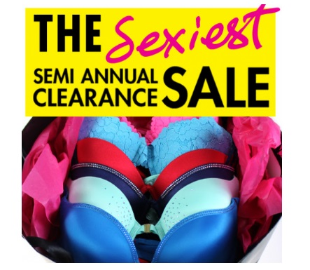 LaSenza Seciest Semi Annual Clearance Sale