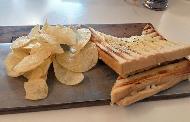 Tuna sandwich from UkeHUB Kafe in Mactan Island Lapulapu City Cebu Philippines