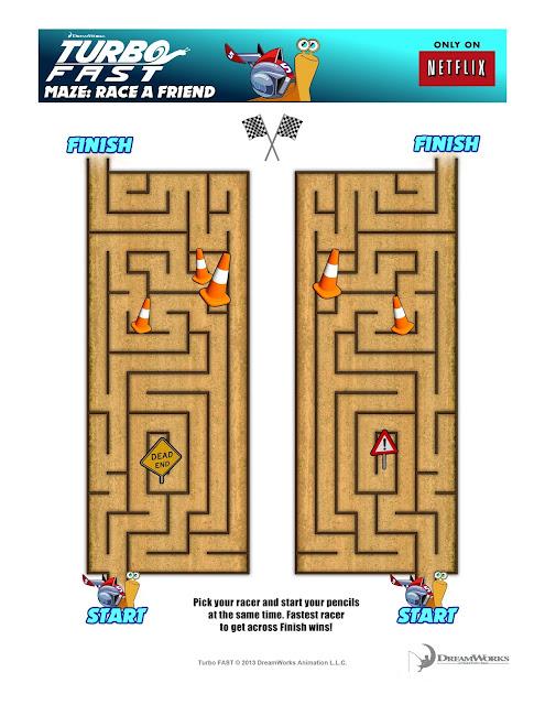 Turbo Fast Maze