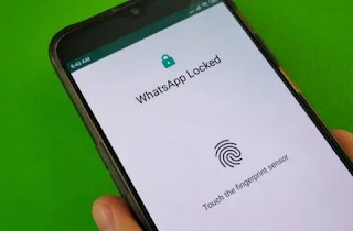 Whatsapp fingerprint lock feature for Android Smartphone