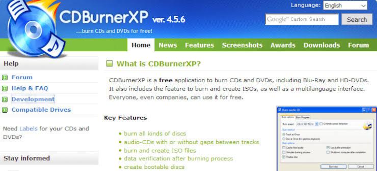8 Best Free CD-DVD Burning Software