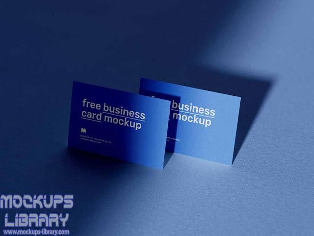mockup business card free