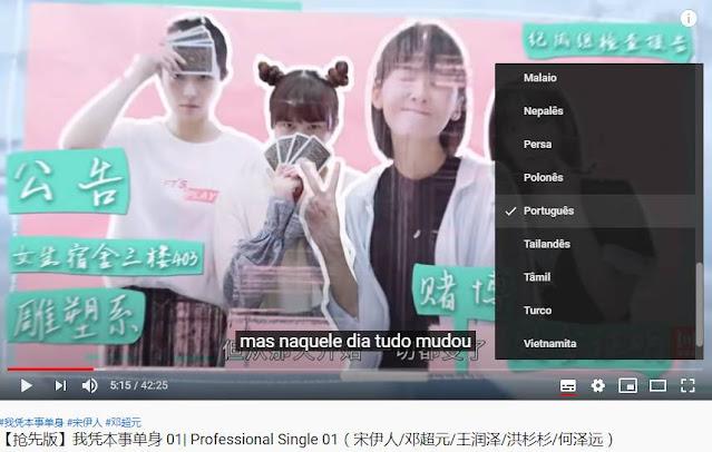 Solteiros profissionais legendado em português