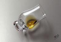 Drawing Glass o Scotch Marcello Barenghi