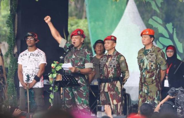 Panglima TNI: Tak Ada Toleransi bagi Pemecah Belah Bangsa