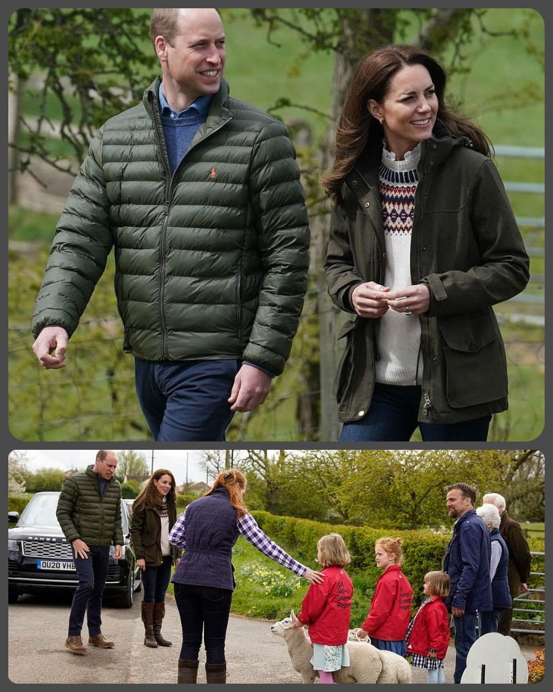 Prince William and Duchess Kate Enjoy a day of Royal Engagements in Durham