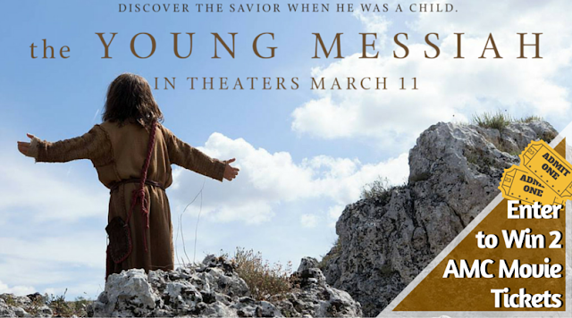 Win two tickets to see #TheYoungMessiah at an AMC theater near you! [ad]