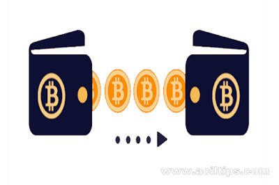 Cara Memindahkan  Transfer Bitcoin ke Dompet Wallet Blockchain