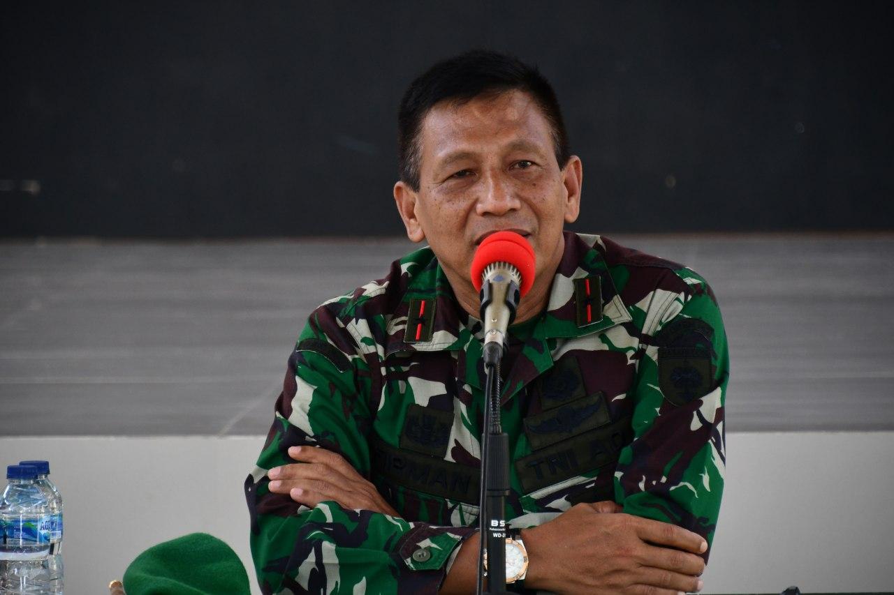 Danrem 142/Tatag Pimpin Jam Komandan Kepada Personel