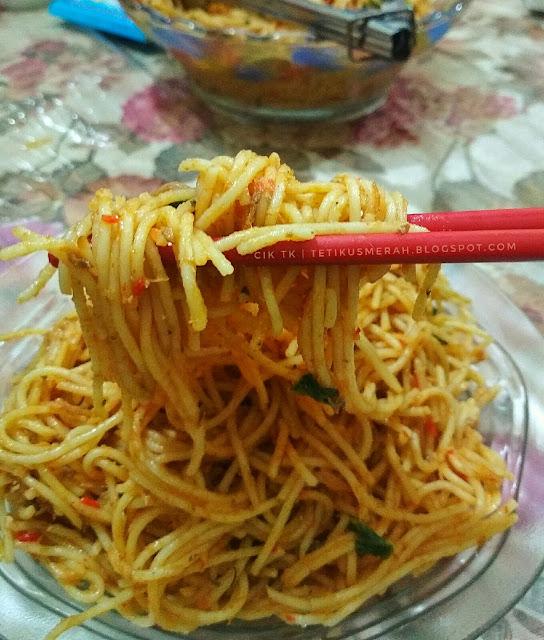 Spagetti Goreng Sardin