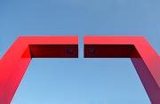 Il ponte rosso a Cergy Pontoise