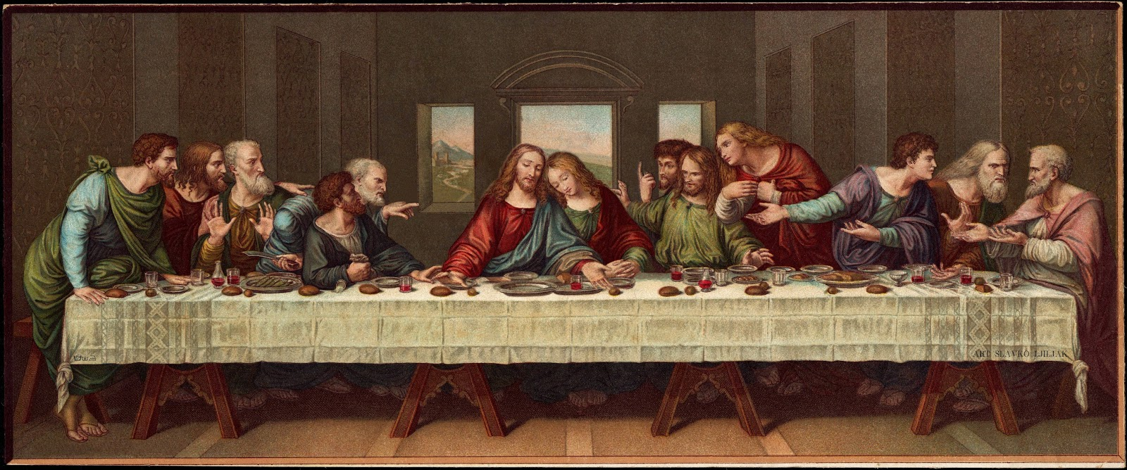 leonardo da vinci the last supper essay Essay about a comparison of da vinci's and tintoretto's the last supper head gives the impression of a halo in tintoretto's work, there are a couple of interesting.