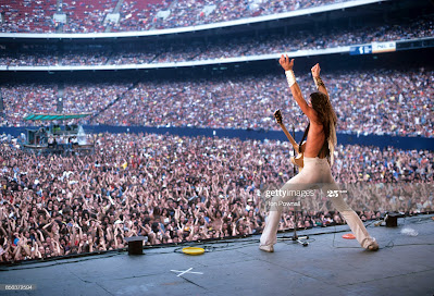 Ted Nugent on stage at Giants Stadium August 6, 1978... we were there!!!