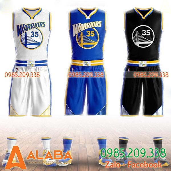 Áo bóng rổ Warriors đẹp