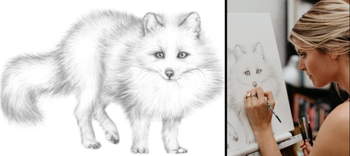 00-Jaimee-Paul-Mixed-Media-Animal-Drawings-and-Paintings-www-designstack-co