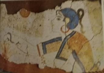Akrotiri - Girl With Saved Head