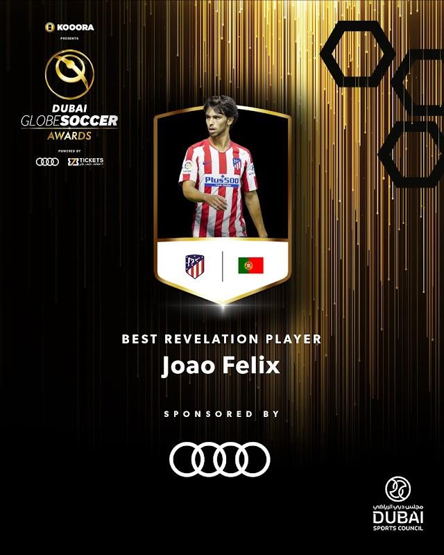 OFFICIAL: Joao Felix wins Globe Soccer Best Revelation Player for 2019