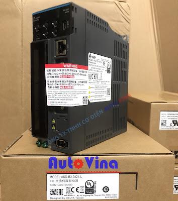 Đại lý bán AC Servo Drive ASD-B3-0421-L công suất 400W