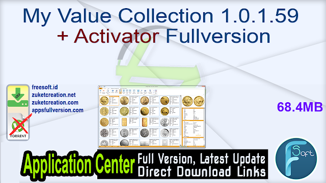 My Value Collection 1.0.1.59 + Activator Fullversion