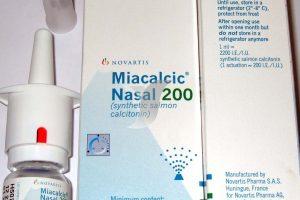 سعر ودواعى إستعمال دواء مياكالسيك Miacalcic Nasal بخاخ لعلاج ألم العظام