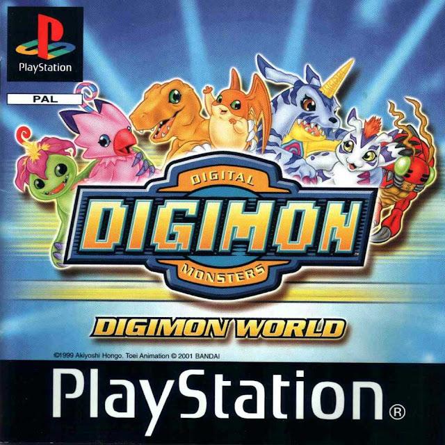 Digimon World - PSX - Portada