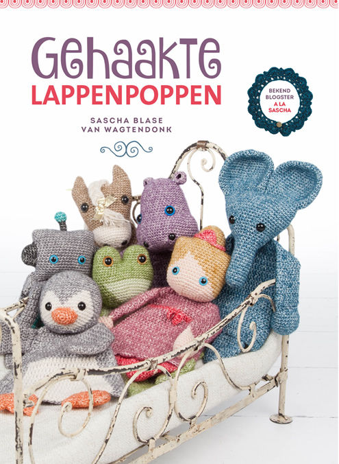 Gehaakte lappenpoppen, Give Away | Happy in Red