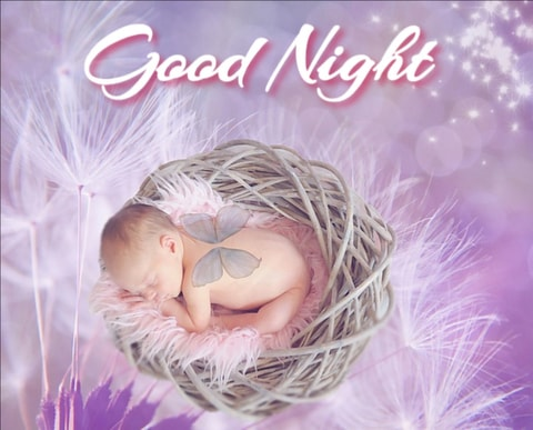 Good night images with Cute Babies 2020