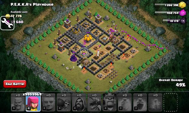 Cheat Clash of Clans Menggunakan Aplikasi SB Game Hacker