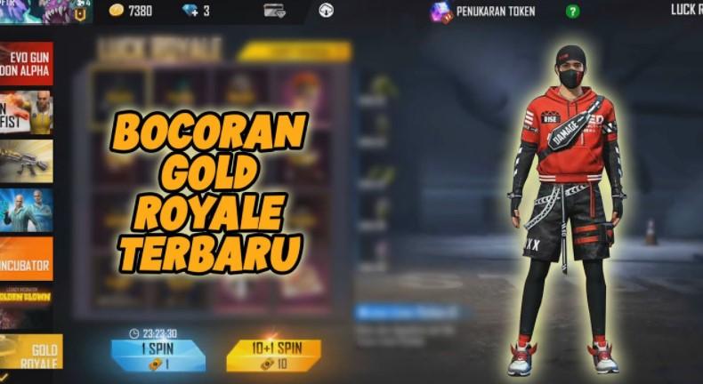 Gold Royale FF Terbaru 2021 Juni