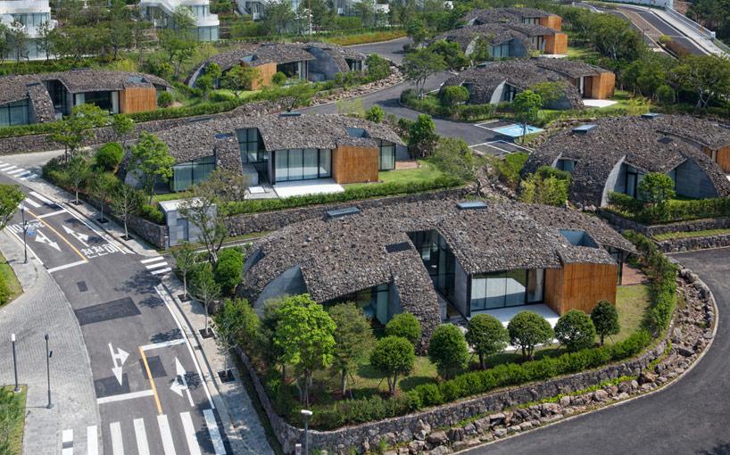 Un complejo habilitacional muy interesante en Corea.
