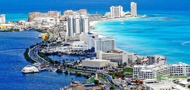 """MÉXICO: Conozca """"Cancún"""" con sus playas de ensueño para el turismo internacional. TURISMO."""