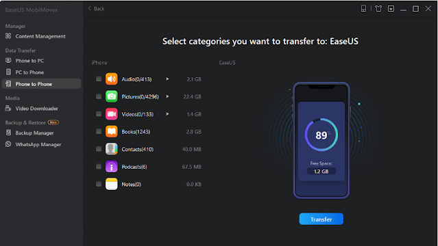 How To Transfer Everything From iphone to iphone in Hindi