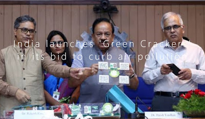 India launches 'Green Crackers' in its bid to curb air pollution