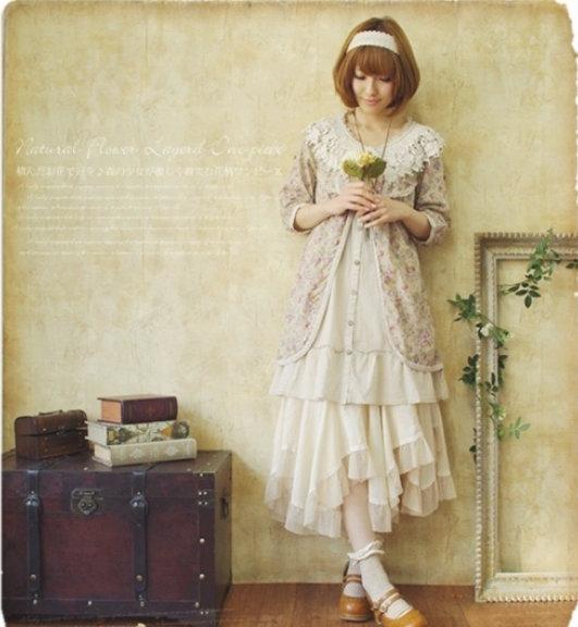 Little Treasures Mori Girl Fashion