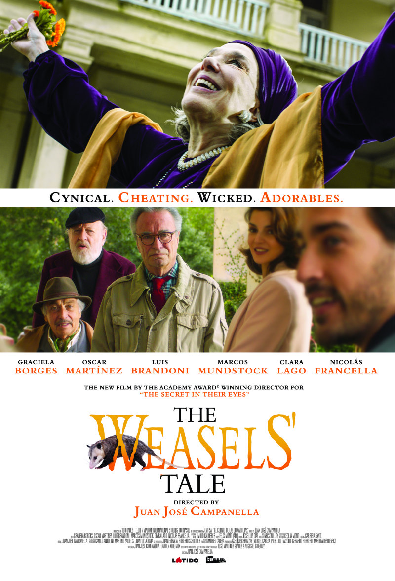 The Weasel's Tale poster