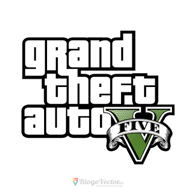 Grand Theft Auto V Logo Vector