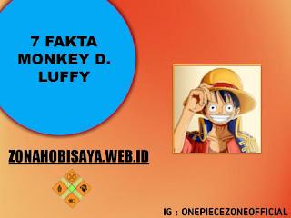 Fakta Luffy One Piece