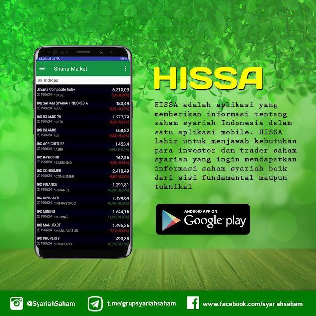 Hissa Aplikasi Informasi Dan Data Khusus Saham Syariah