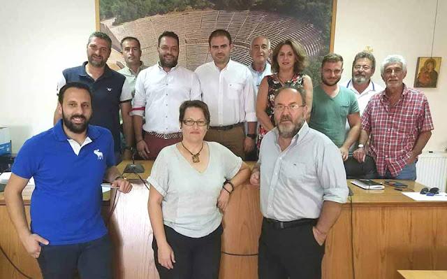Αυτοί ειναι οι αντιδήμαρχοι στο Δήμο Επιδαύρου