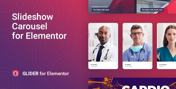 Download Glider v1.0.0 - Slideshow & Slider for Elementor