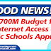 700M Budget for Internet Access of Public Schools Approved