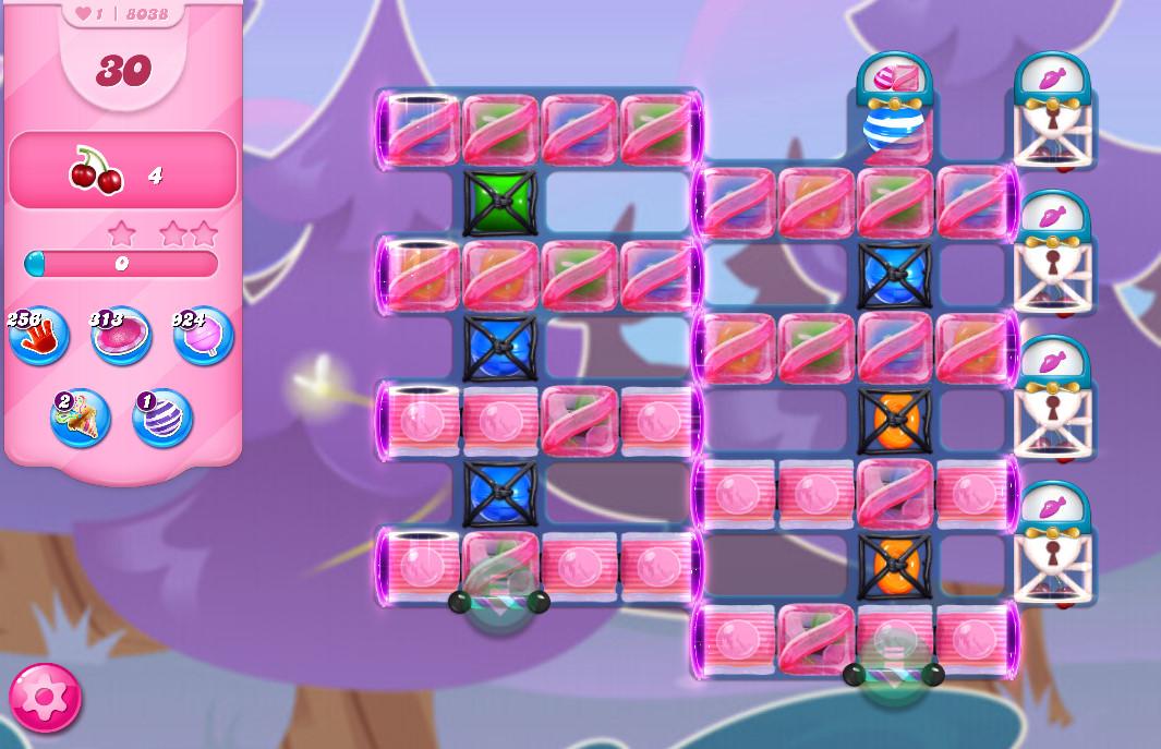 Candy Crush Saga level 8038