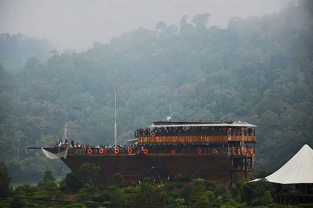 Glamping Lakeside Rancabali Bandung Jawa Barat