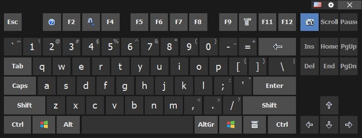 On-Screen Keyboard