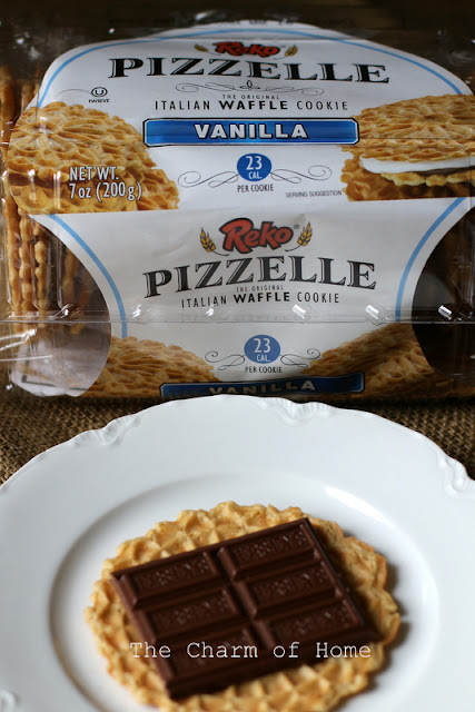 Pizzelle Smores: The Charm of Home
